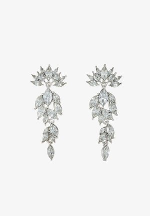 PCMARLO EARRINGS KEY - Øreringe - silver-coloured