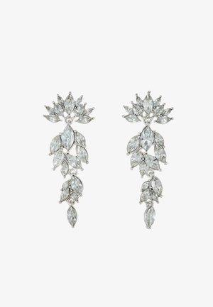 PCMARLO EARRINGS KEY - Earrings - silver-coloured