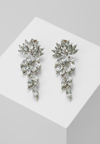 Pieces - PCMARLO EARRINGS KEY - Oorbellen - silver-coloured - 0