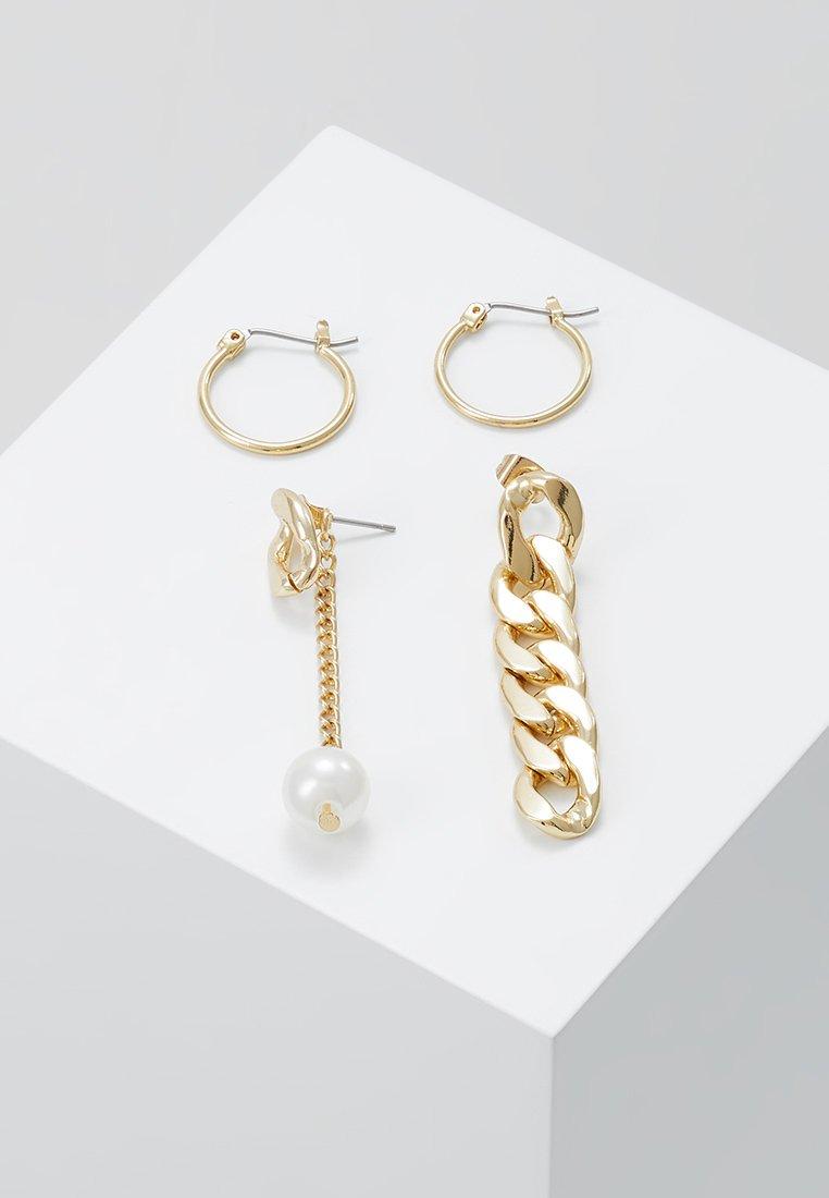 Pieces - PCOKLA EARRINGS 2 PACK - Øreringe - gold-coloured