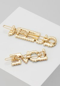 Pieces - HAIRCLIP 2 PACK - Hair Styling Accessory - gold-coloured - 2