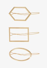 Pieces - PCEMILY HAIRCLIP 3 PACK - Haar-Styling-Accessoires - gold-coloured - 3