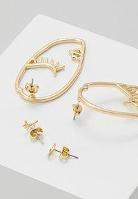 Pieces - PCDANA EARRINGS 2 PACK - Boucles d'oreilles - gold-coloured - 2