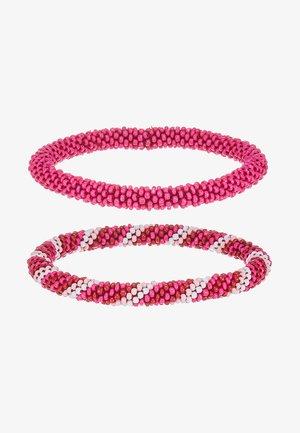PCSACHA BRACELET SET - Armband - candy pink