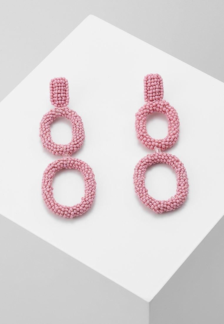 Pieces - PCSILO EARRINGS - Pendientes - candy pink