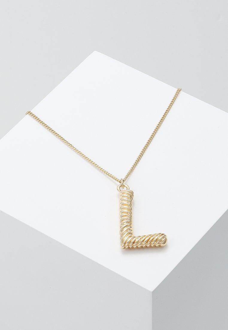Pieces - PCSKYLAR NECKLACE - Halskæder - gold-coloured