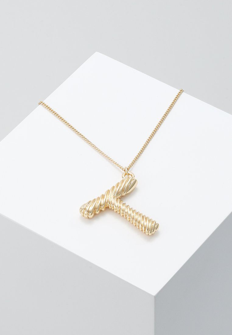 Pieces - PCSKYLAR NECKLACE - Halskette - gold-coloured