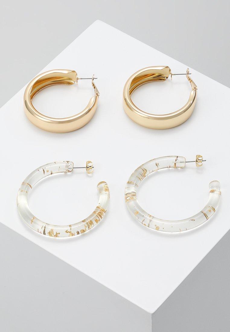 Pieces - PCJYTTA EARRINGS 2 PACK - Boucles d'oreilles - whitecap gray