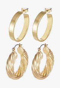 Pieces - PCSIARRA EARRINGS 2 PACK - Pendientes - gold-coloured - 3