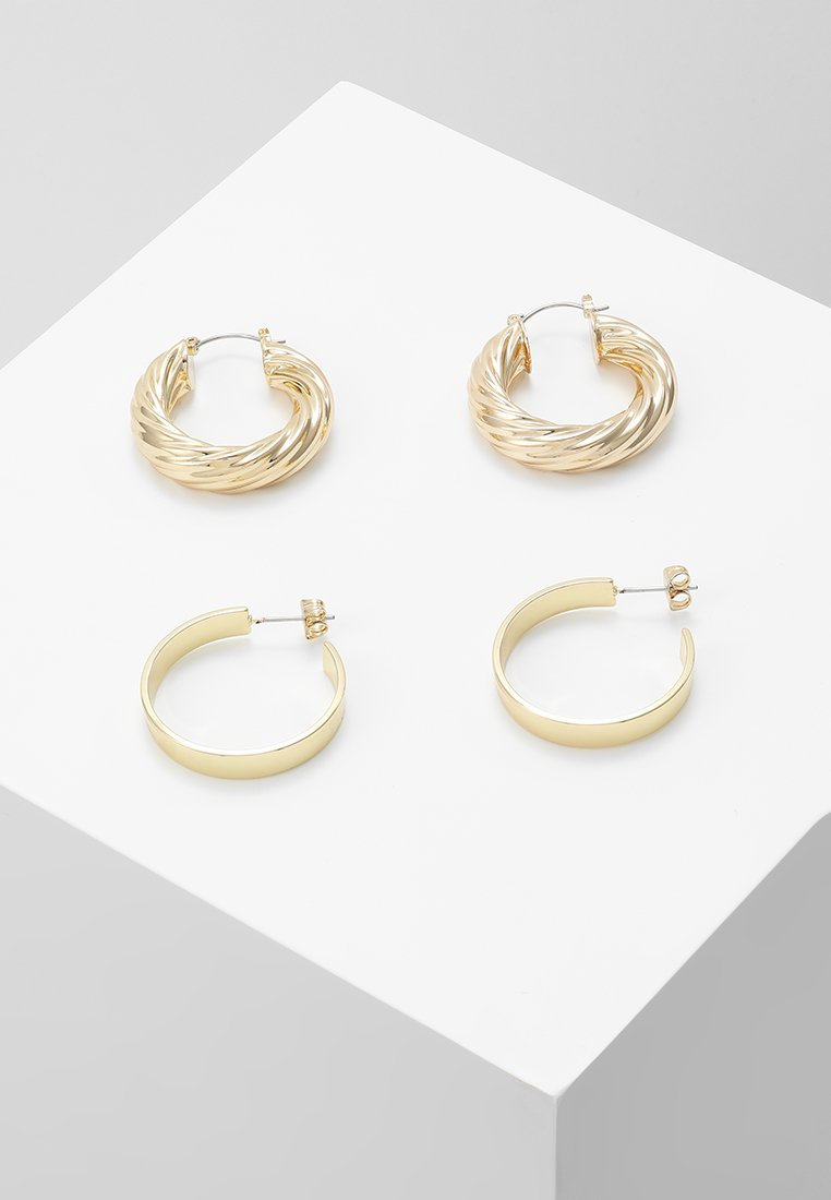 Pieces - PCSIARRA EARRINGS 2 PACK - Øredobber - gold-coloured