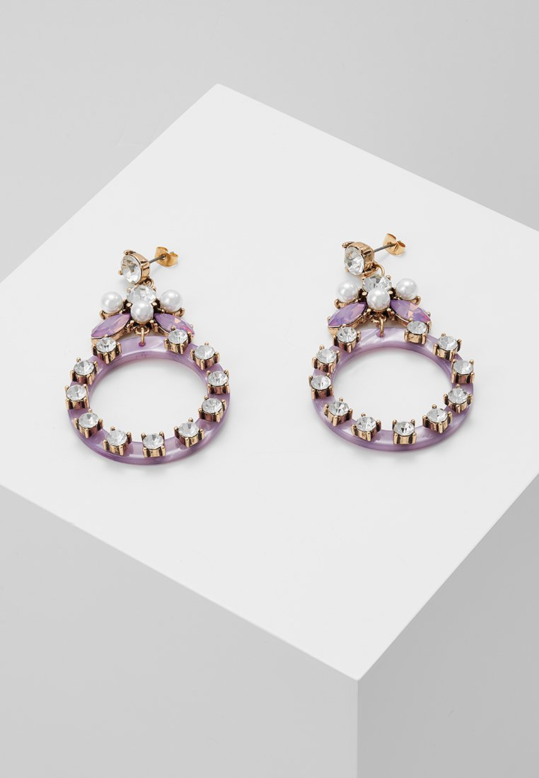 Pieces - PCSOJA EARRINGS - Pendientes - english lavender