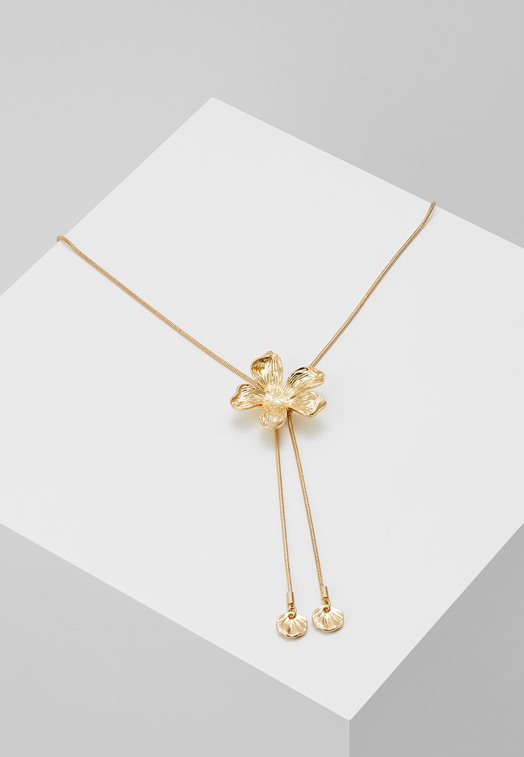 Pieces - PCSILICITY NECKLACE  - Necklace - gold-coloured
