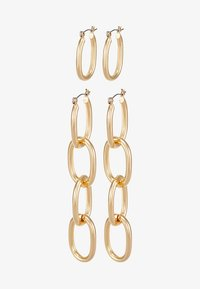 Pieces - PCFRIDA EARRINGS 2 PACK  - Oorbellen - gold-coloured - 3
