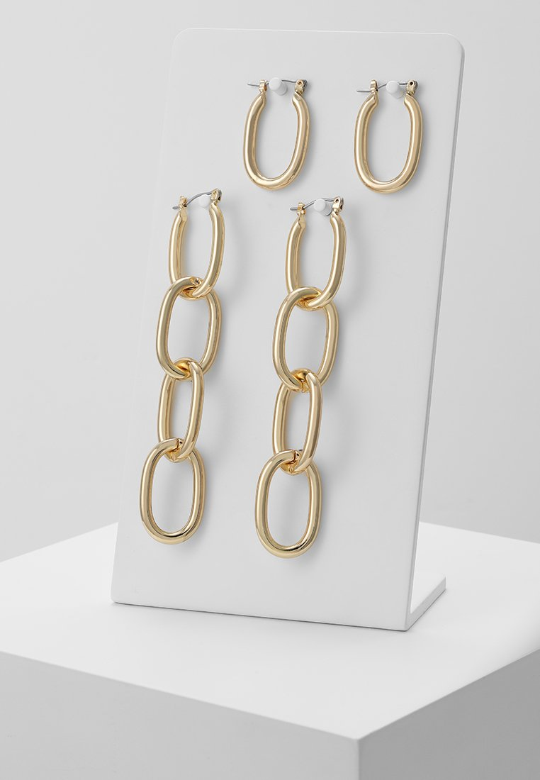 Pieces - PCFRIDA EARRINGS 2 PACK  - Oorbellen - gold-coloured