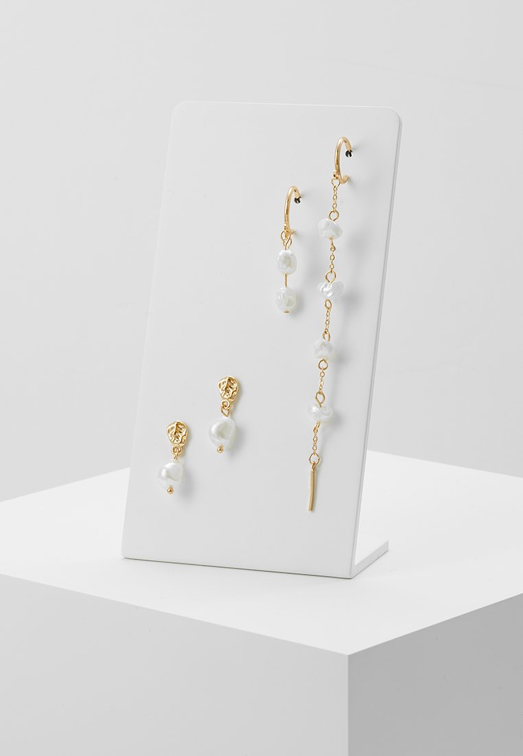 Pieces - PCFAINE EARRINGS 2 PACK - Ohrringe - gold-coloured