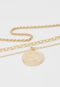 Pieces - PCCARMEN COMBI NECKLACE - Kaulakoru - gold-coloured - 4