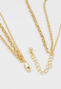 Pieces - PCCARMEN COMBI NECKLACE - Kaulakoru - gold-coloured - 2