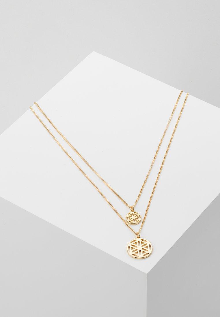 Pieces - PCCALLA COMBI NECKLACE KEY - Náhrdelník - gold-coloured