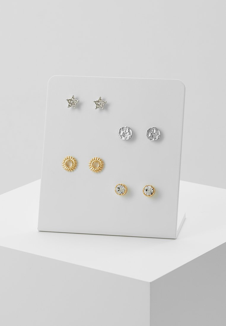 Pieces - PCCILLE EARSTUD BOX 4 PACK - Earrings - gold-coloured