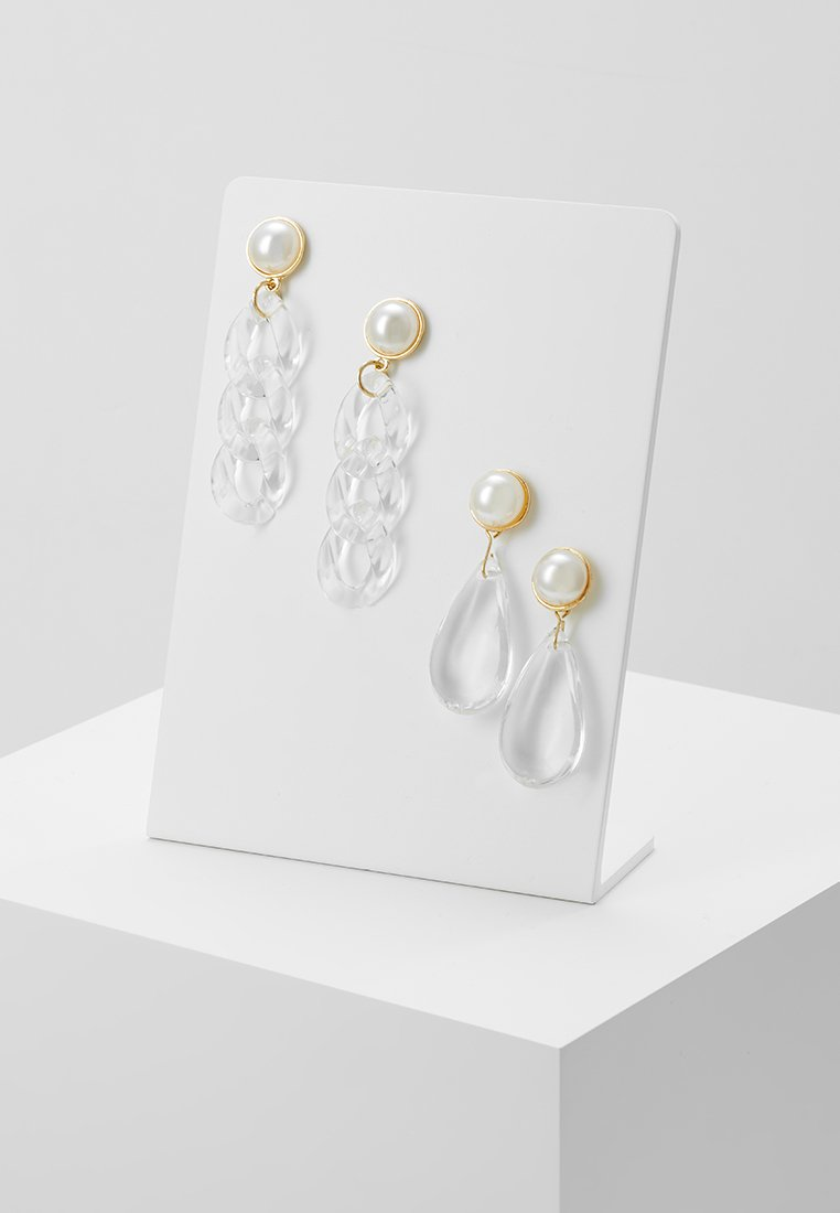 Pieces - PCCASSIDY EARRINGS 2 PACK - Ohrringe - gold-coloured