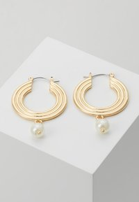 Pieces - PCCARA HOOP EARRINGS - Oorbellen - gold-coloured - 0