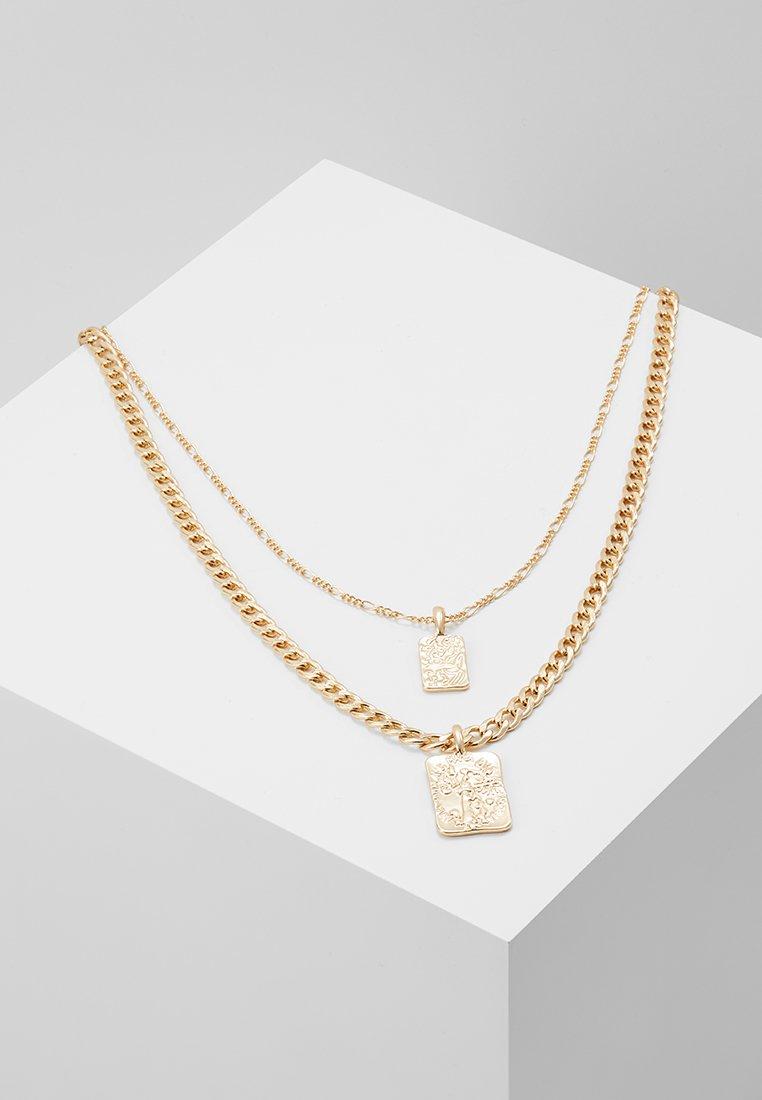 Pieces - PCCOLLIE COMBI NECKLACE - Necklace - gold-coloured
