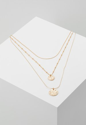 PCEIDA COMBI NECKLACE KEY - Collar - gold-coloured