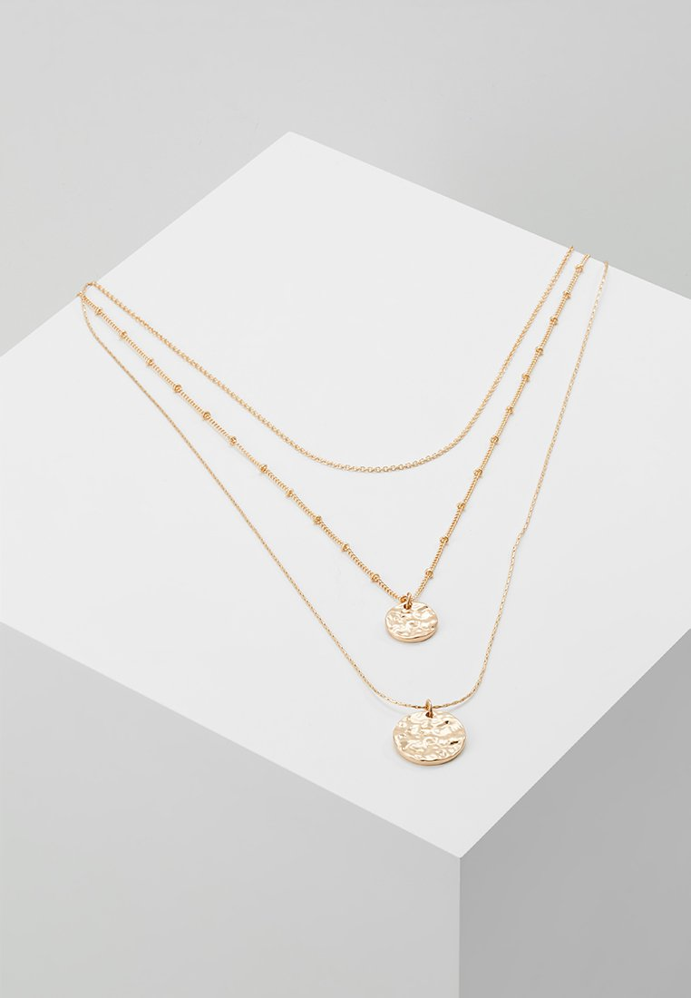 Pieces - PCEIDA COMBI NECKLACE KEY - Halsband - gold-coloured