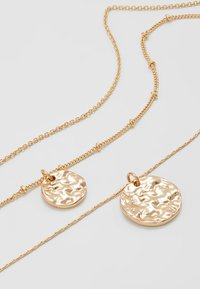 Pieces - PCEIDA COMBI NECKLACE KEY - Necklace - gold-coloured - 4