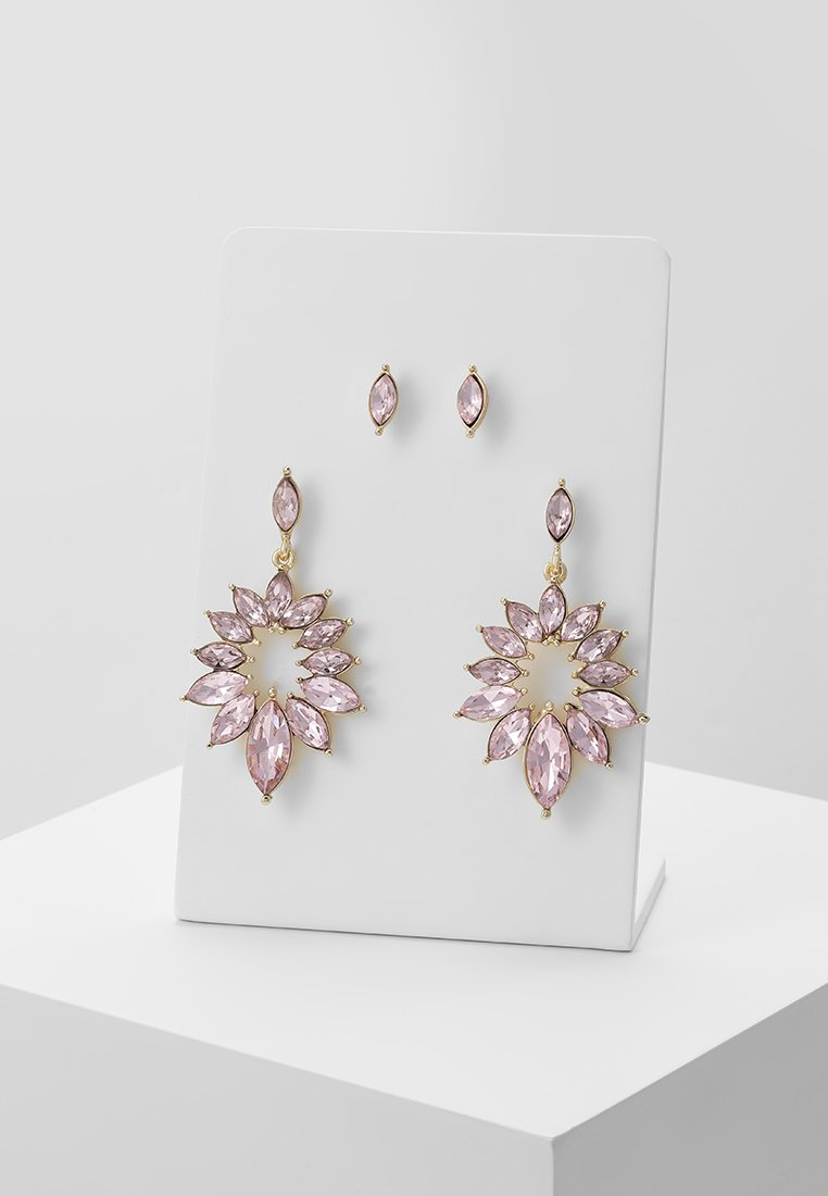 Pieces - PCEVELYN EARRINGS 2 PACK - Pendientes - gold-coloured