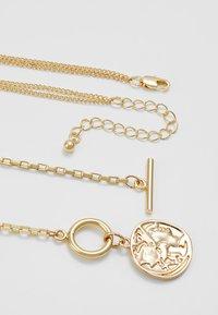 Pieces - Halskette - gold-coloured - 2