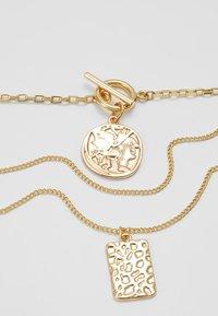Pieces - Halskette - gold-coloured - 4
