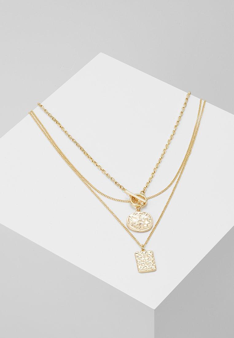 Pieces - PCELDA COMBI NECKLACE 2 PACK - Collar - gold-coloured