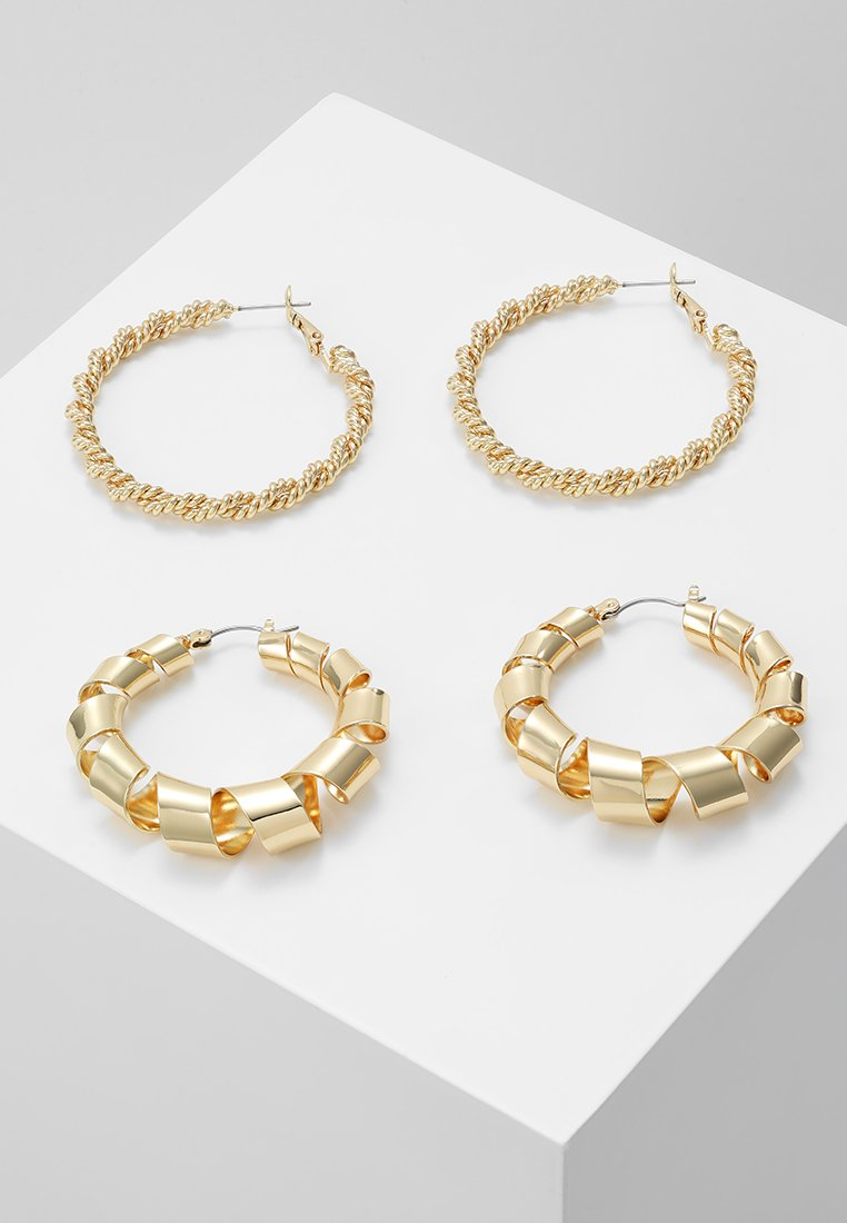 Pieces - Øredobber - gold-coloured