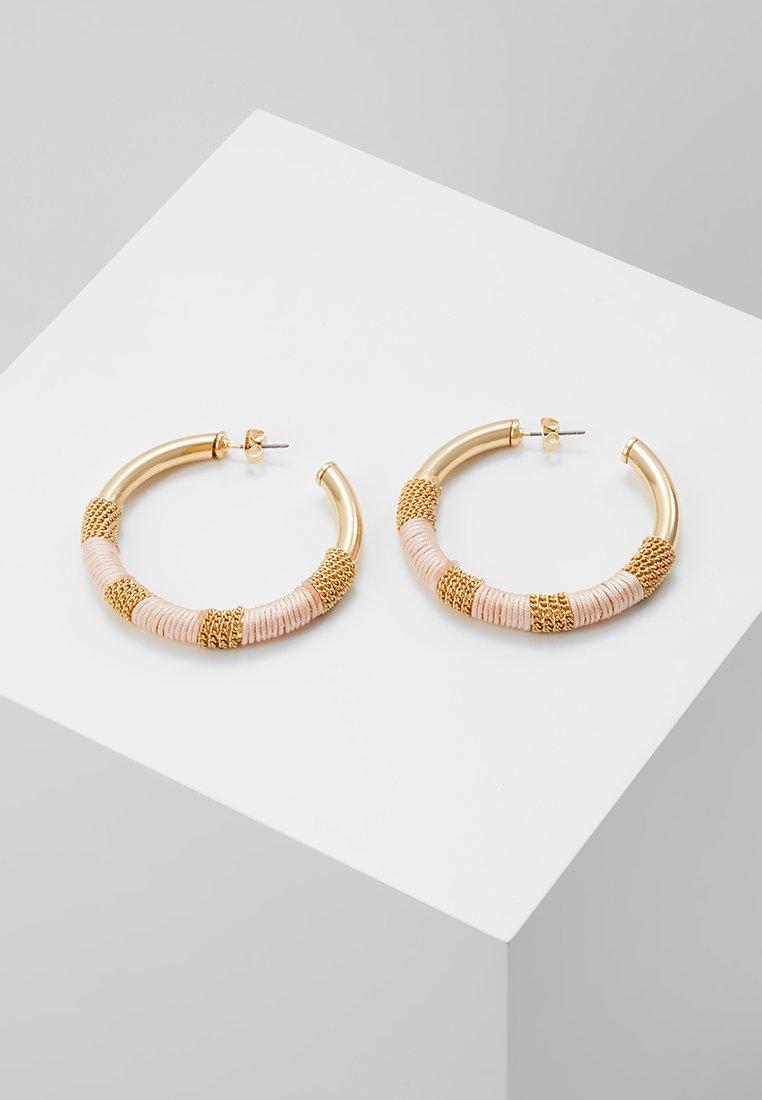 Pieces - PCEATE HOOP EARRINGS - Earrings - lotus