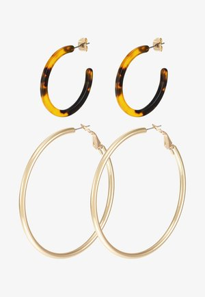 Earrings - gold-coloured