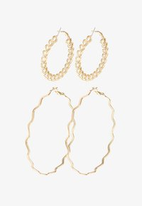 Pieces - Earrings - gold-coloured - 3