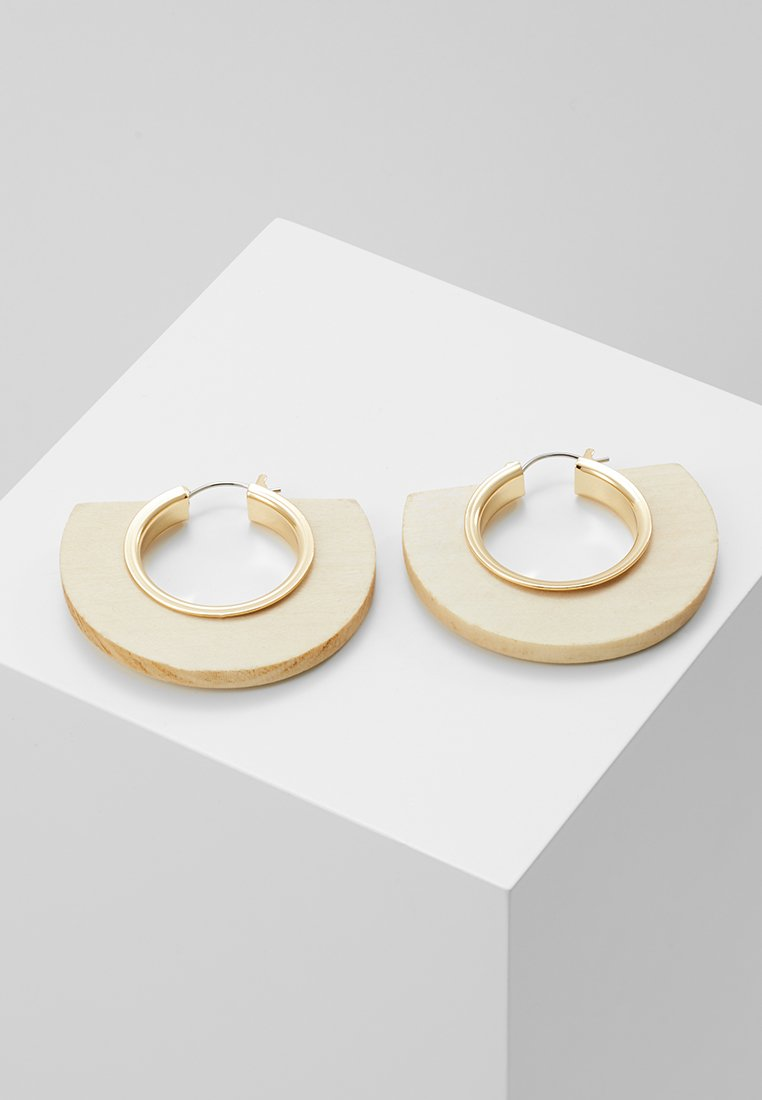 Pieces - Örhänge - gold-coloured