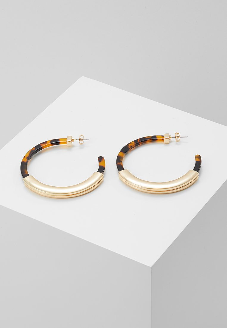 Pieces - PCTRINE HOOP EARRINGS KEY - Ohrringe - gold-coloured