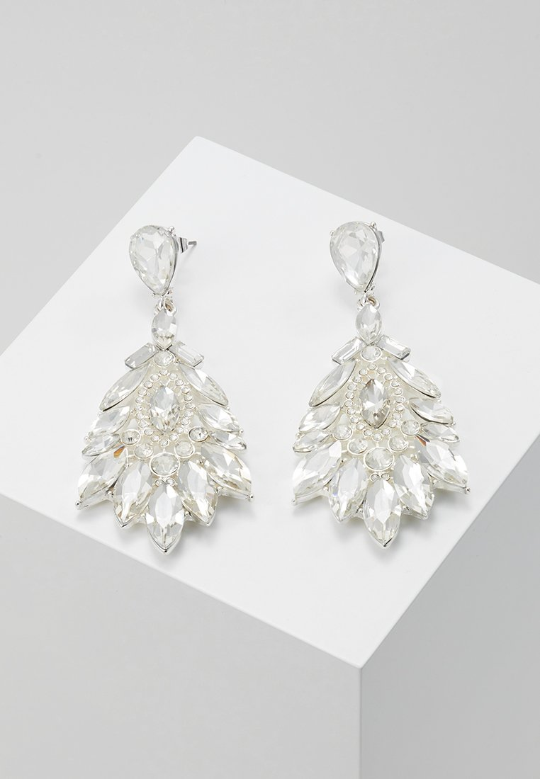Pieces - PCGLAMMO EARRINGS KEY - Boucles d'oreilles - silver-coloured
