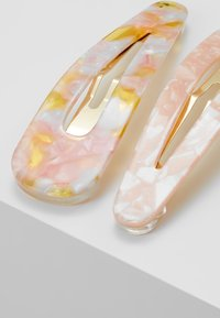 Pieces - 2 PACK - Haaraccessoire - gold-coloured/lotus/mellow yellow - 4