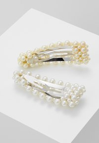 Pieces - Hair Styling Accessory - silver-coloured/white/yellow - 2
