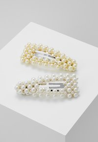 Pieces - Hair Styling Accessory - silver-coloured/white/yellow - 0
