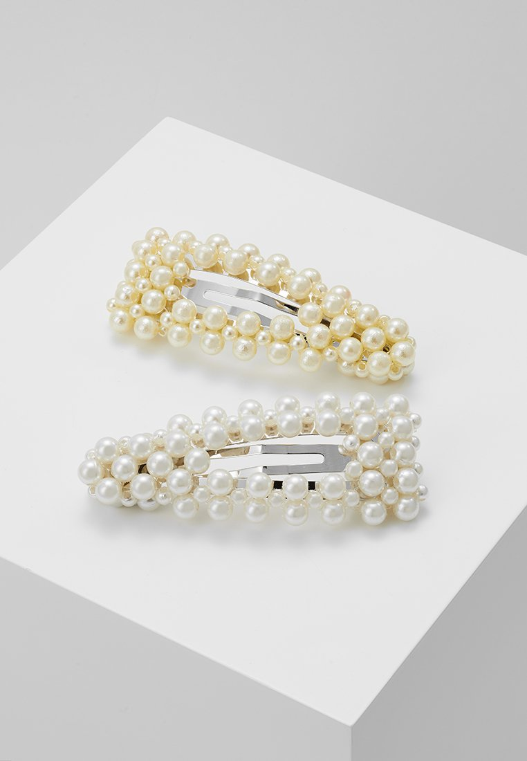 Pieces - Hair Styling Accessory - silver-coloured/white/yellow