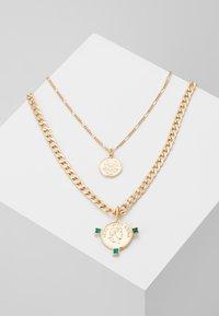 Pieces - Necklace - gold-colour - 0
