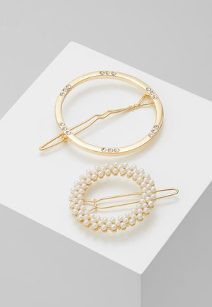 Hair Styling Accessory - gold-coloured/clear