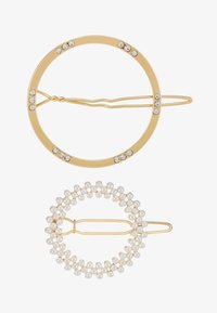 Pieces - Hair Styling Accessory - gold-coloured/clear - 3