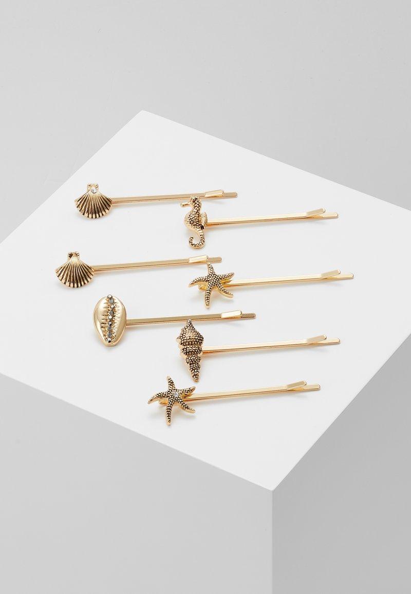 Pieces - Náušnice - gold-coloured