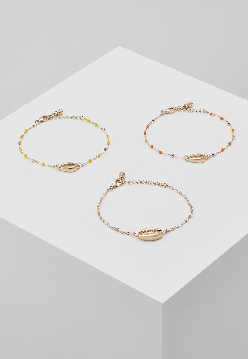 Pieces - PCSHELLO BRACELETS 3PACK - Armband - gold-coloured/multi