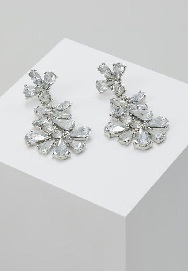 Oorbellen - silver-coloured/clear